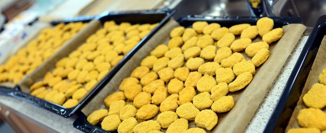 Fettpfanne Chicken Nuggets