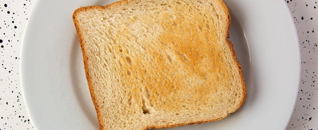 Toaster mit Glasscheibe