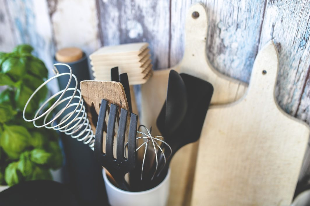 Silikon Küchenhelfer Set in der Küche