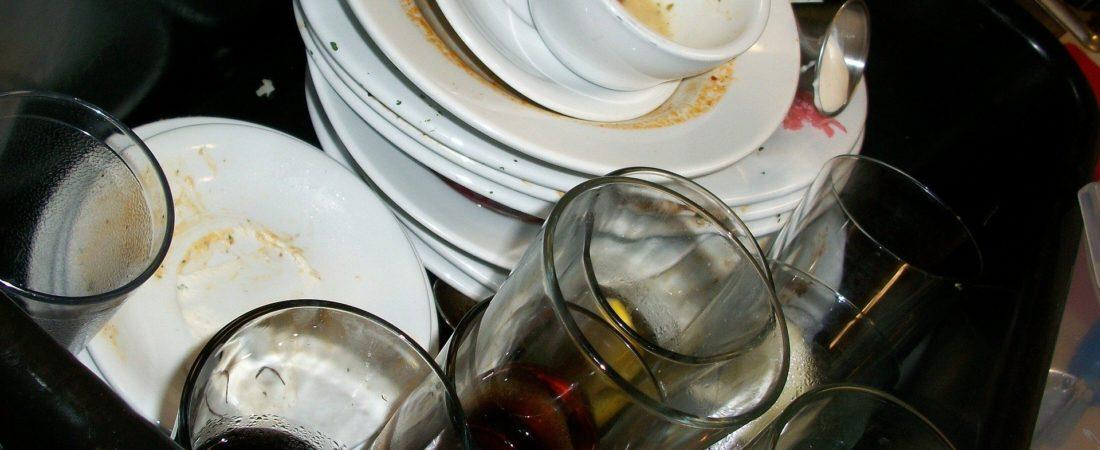Dreckiges Geschirr