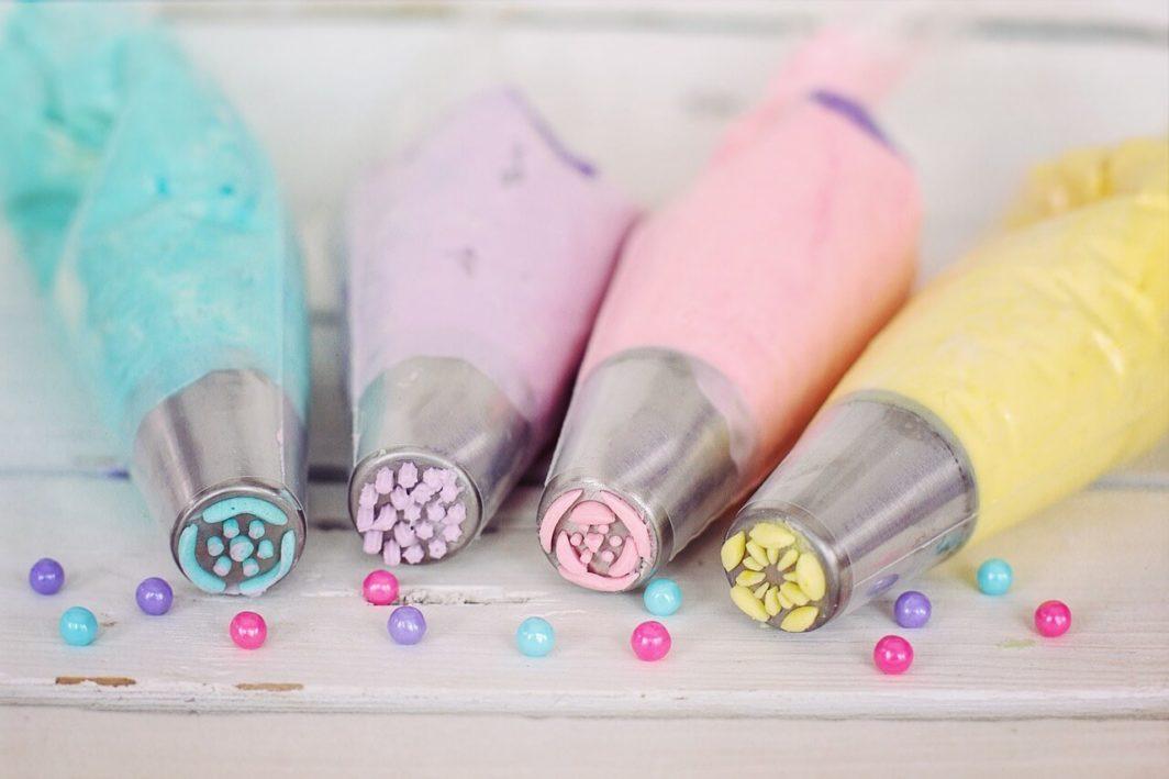 Dekorzucker Spritzen zum Verzieren