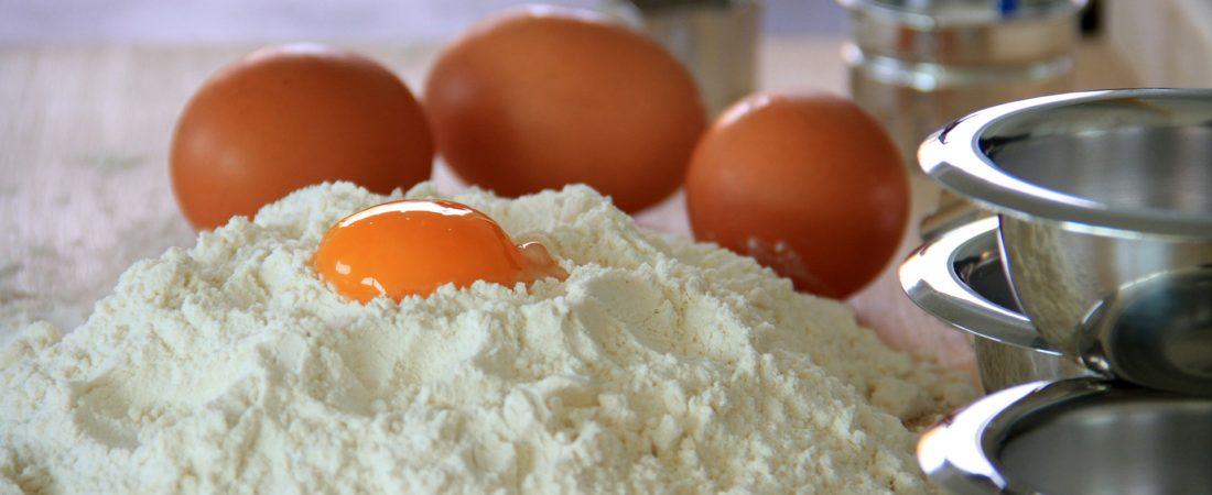 Mehl für die Zubereitung von Nudeln und Pasta