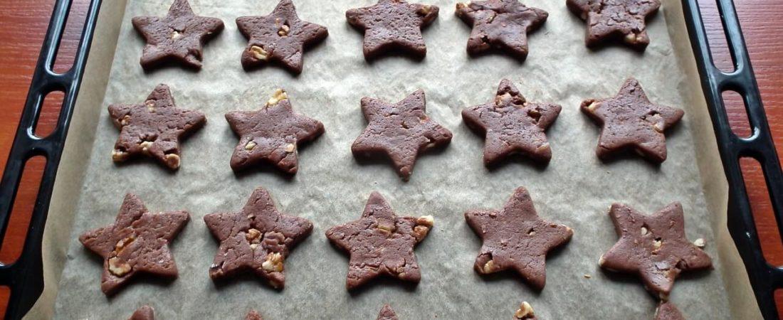 sternplaetzchen schokolade
